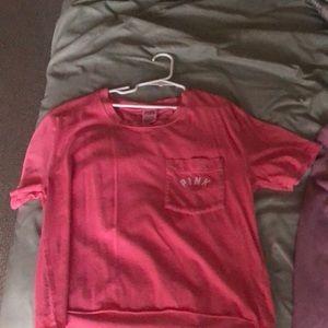 Small pink shirt